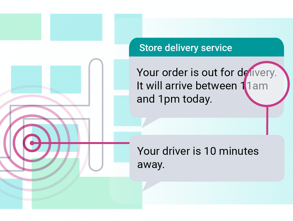 SMS delivery updates - the rising star