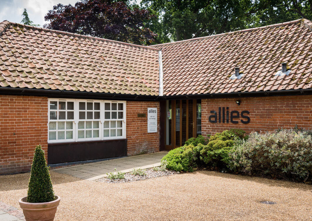 Allies Computing Office Exterior at Mannor Farm Barns